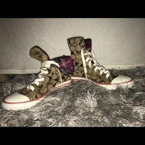 Coach Hi-top shoes